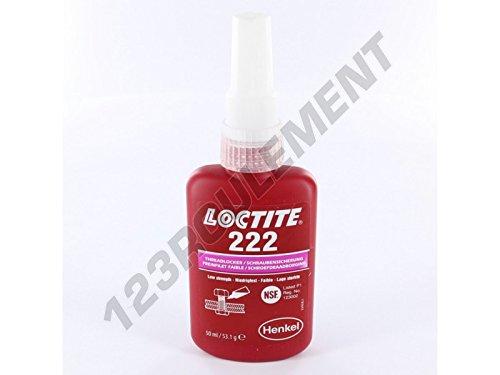 LOCTITE - Colles, adhesifs et Vernis 222-50ML-LOCTITE