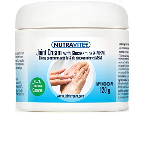 Natural Arthritis Pain Relief Cream – MSM Joint Cream for Stiffness and Immobility with Glucosamine, Turmeric, Menthol…