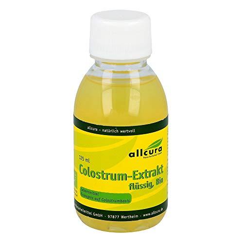allcura Colostrum-Extrakt flüssig, Bio, 125 ml Lösung