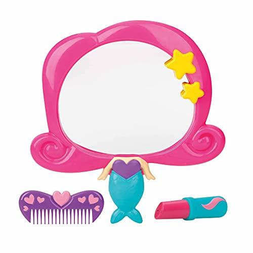 Nuby Badespielzeug Spiegelset Meerjungfrau 12M+ mehrfarbig, Mädchen