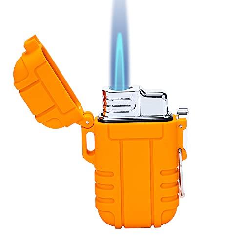 Torch Lighter, Refillable Mini Butane Lighter with...