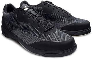 Brunswick 男士 Helix 舒适针织保龄球鞋 - 黑色 13