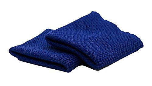 Haberdashery Online 2 puños elásticos para ropa color Azul eléctrico. Ideales para...