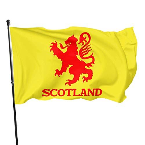 Viplili Lion Rampant Schottland Scottish Garden Flag Banner Flag für innen/außen 3 X 5