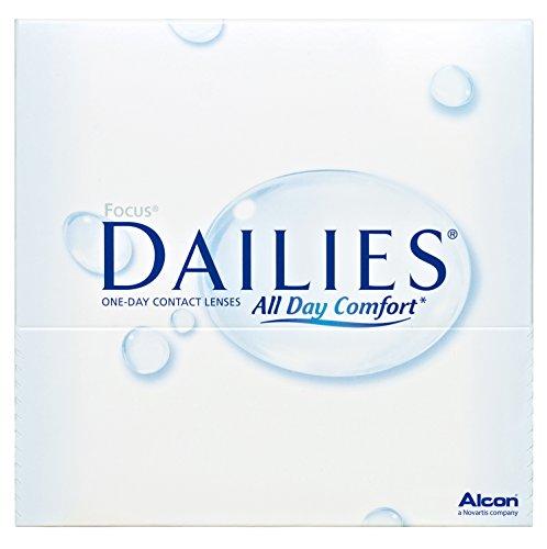 Focus Dailies All Day Comfort Tageslinsen weich, 90 Stück / BC 8.6 mm / DIA 13.8 / -1,50 Dioptrien