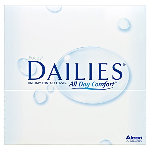 Focus Dailies All Day Comfort Tageslinsen weich, 90 Stück / BC 8.6 mm / DIA 13.8 / -1,25 Dioptrien