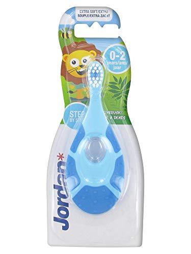 Jordan Zahnbürste, 0 – 2 Jahre, weich, Blau