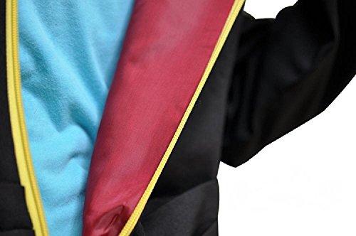 『★まるで海賊団★ 帽子付き ワンピース トラファルガー ロー コスプレ Lサイズ アニメ 衣装 コート 死の外科医』の4枚目の画像