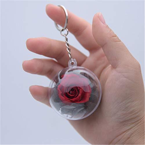 Hey shop Mini-Anhänger mit Blume, Motiv: Ewige Blume, Geschenk