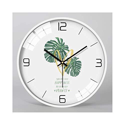 XMBT Reloj de Cocina con Pilas,Relojes domésticos de la Sala de Estar Decorativa de la Pared del Arte del Vintage Dormitorio Sala de Estar Decoración Personalidad Moda Relojes Reloj Digital