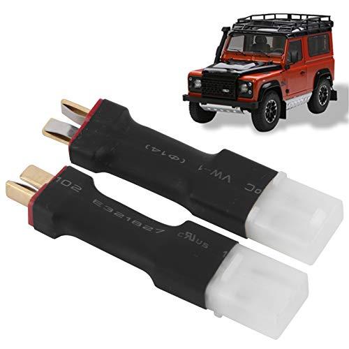Adaptador de batería RC, a conector macho T-Plug Robusto y seguro Alto rendimiento para piezas de mantenimiento RC para actualización RC para accesorios RC para reparación RC