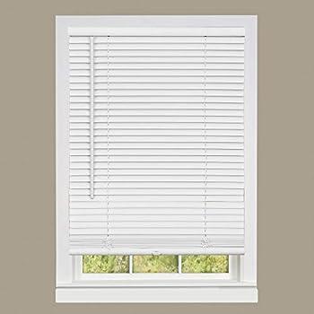 Achim Home Furnishings DSG235WH06 Deluxe Sundown G2 Cordless Blinds 35  x 64  White