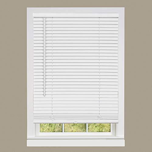 Achim Home Furnishings DSG235WH06 Deluxe Sundown G2 Cordless Blinds, 35' x 64', White