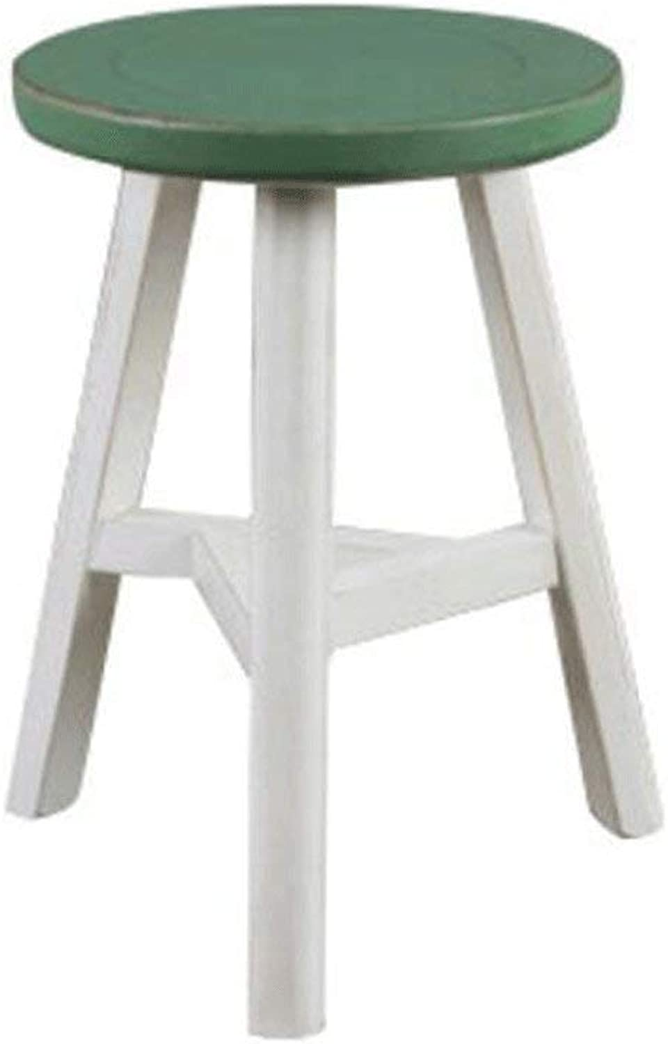 DYR color Stool H44CM Stool shoes Bench Table Stool (color  G)