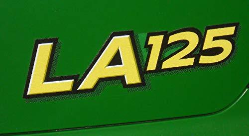 John Deere LA125 Hood Decals GX22695