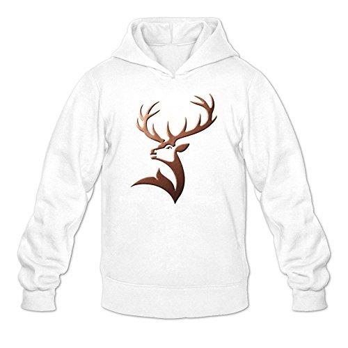 Niceda Men's Glenfiddich Deer Long Sleeve Sweatshirts Hoodie
