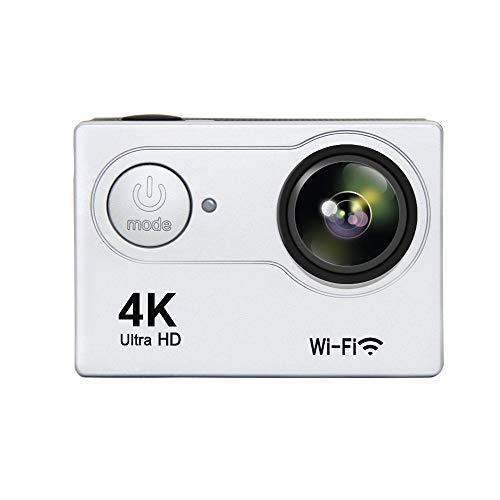 Luckyza Action Fotocamera Sport Action Camera Impermeabile con Telecomando 2.4G 4K 1080P 12MP WiFi Videocamera con Angolo di Visione Ampio...