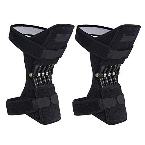 ATpart Protector de rodilla Booster Rodillera Articulación de rodilla Booster Correa de rodilla Montañismo Cuidado profundo Equipo deportivo de protección portátil