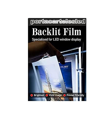 50 hojas film backlite especial retroiluminados (A4 Tinta)