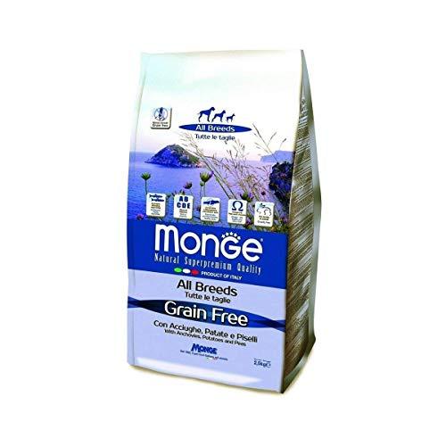 Monge Grain Free Acciughe/Patate/Piselli kg. 12