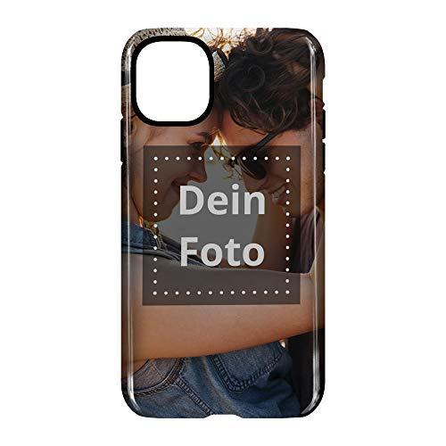 PhotoFancy Handyhülle iPhone® 11 Handyhülle mit eigenem Foto Bedrucken – Smartphone Case als personalisierte Schutzhülle (Premium Bumper Rundum-Druck)