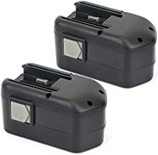 POWERAXIS 18V 3.0Ah NIMH High Capacity Replacement Battery for Milwaukee 48-11-2220 48-11-2230 48-11-2200 48-11-2232-2 Packs