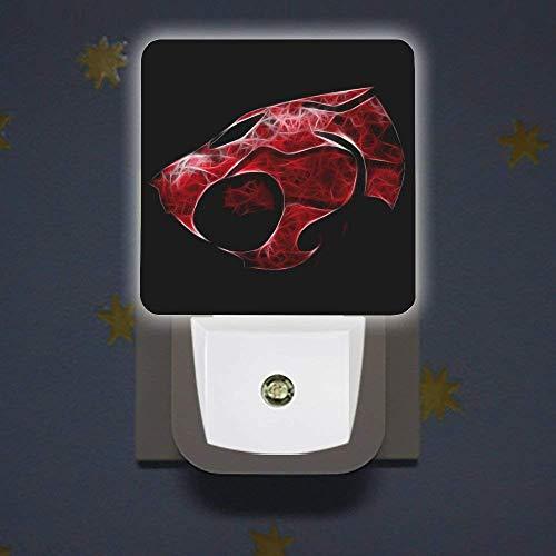 Thun-Der-Cats - Luz nocturna LED para coche, con sensor de luz para dormitorio, baño, cocina, Hallway Stairs UK