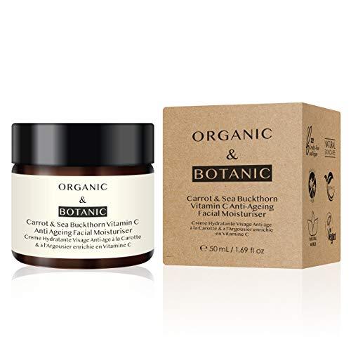 Organic&Botanic Crema Hidratante de Zanahoria y Espino Amarillo 50ml