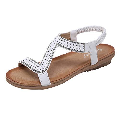 HUADUO Sandalias cómodas para Caminar con Soporte de Arco para Mujer Impermeable para Caminar/Senderismo/Viajes/Boda/Punto de Agua/Playa