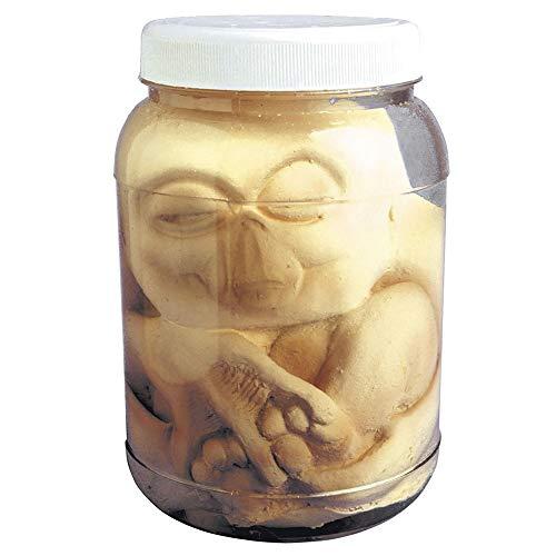 Widmann 8168A Alien Embryo im Glas, Unisex– Erwachsene, Bianco, Taglia Unica