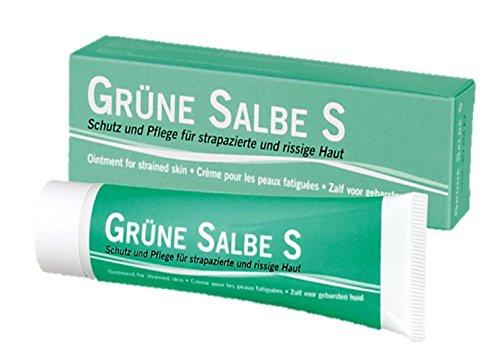 Grüne Salbe S 30 ml Silber-Creme mit natürlichem Chlorophyll bei Mauke