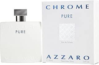 Azzārŏ Chrōme Pure for Men Cologne 3.4 fl. oz Eau De Toilette Spray