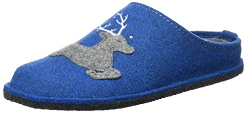 ARA Damen Cosy Pantoffeln, Blau (Royal), 40 EU