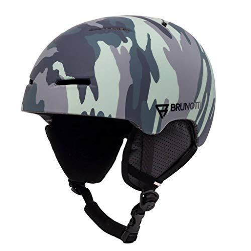 Brunotti Dames Snowboard helm Maddox 1 Unisex Helmet Titanium 55/58