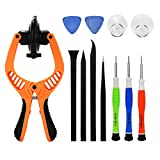 BOENFU 12Pcs iPhone Repair Tool Kit Mobile Phone Screwdriver Set with LCD Opening