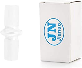 Jianuo Scientic Glass Tube Adapter, 18MM Male to 18MM Male Essential Adapter