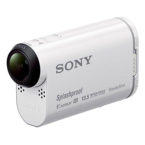 Sony HDR-AS100V - Videocámara Deportiva (18.9 MP,WiFi, GPS, USB), Blanco - Kit...
