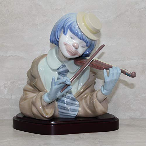 """Lladro """"The Blues Collectible Figurine #05600 Retired Glazed Finish"""