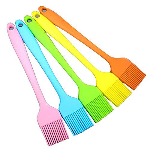 Xinlie Cepillo para Hornear de Silicona Cepillo de Cocina para Hornear Repostería...