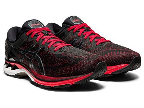 Asics Zapatillas de running Gel-Kayano 27 para hombre, Rojo (Rojo (Classic Red/Black)), 39.5 EU