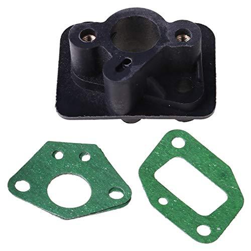 2 uds 40-5 43CC 52CC cortador de cepillo colector de admisión conector de base de carburador kit de reconstrucción de carburador motor pequeño