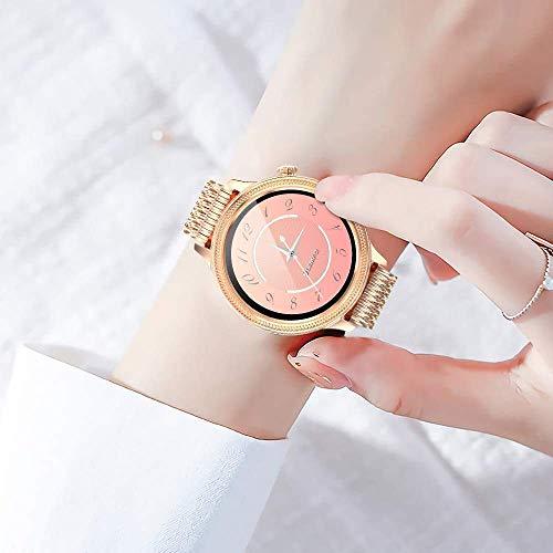 Smartwatch Damen, Voll-Touchscreen Smartwatch Fitness Tracker mit 29 Zifferblättern, 7-tägige Akkulaufzeit Sportuhr mit Herzfrequenzdetektor, wasserdichte IP67 Fitnessuhr für IOS/Android