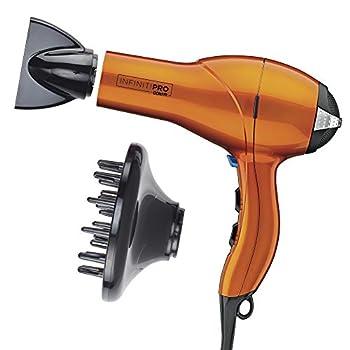 INFINITIPRO BY CONAIR 1875 Watt Salon Performance AC Motor Styling Tool/Hair Dryer Orange