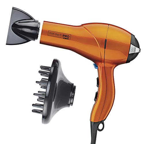 INFINITIPRO BY CONAIR 1875 Watt Salon Performance AC Motor Styling Tool/Hair Dryer, Orange