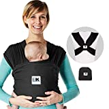 Baby K'tan Cotton Black Breeze Baby Carrier (Small)