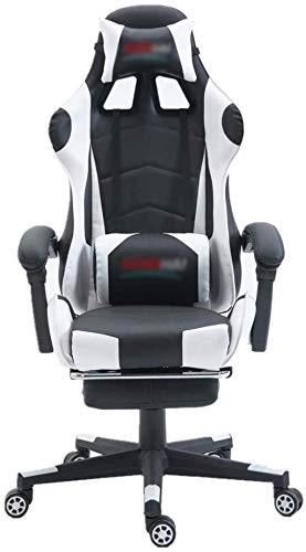 YONGYONGCHONG Bürostuhl E-Sports Chair PU-Leder mit hoher Rückenlehnenstuhl Bürostuhl Computer Gaming-Tische und -stühle