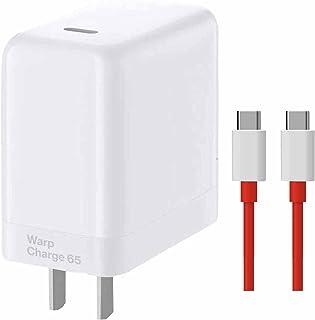 شحن 65 وات لـ Oneplus8T 9 9Pro 9R ، 30W شحن لـ Oneplus 8 8pro 7pro مع كابل USB C إلى c بطول 5 أقدام