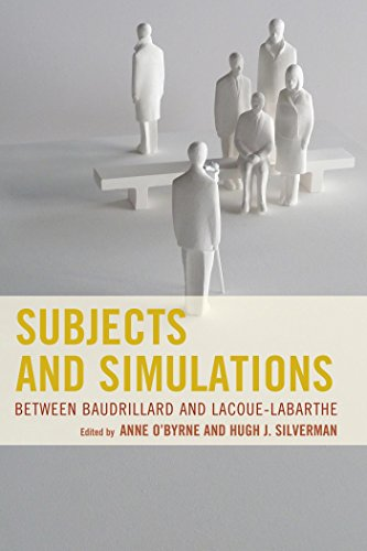 Subjects and Simulations: Between Baudrillard and Lacoue-Labarthe (English Edition)