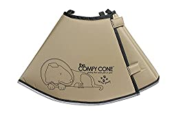 homemade dog cone collar alternative