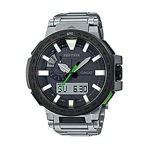 """[カシオ] 腕時計 プロトレック MANASLU 電波ソーラー PRX-8000T-7BJF シルバー"""""""